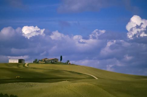 Pienza, Toscana, 1990