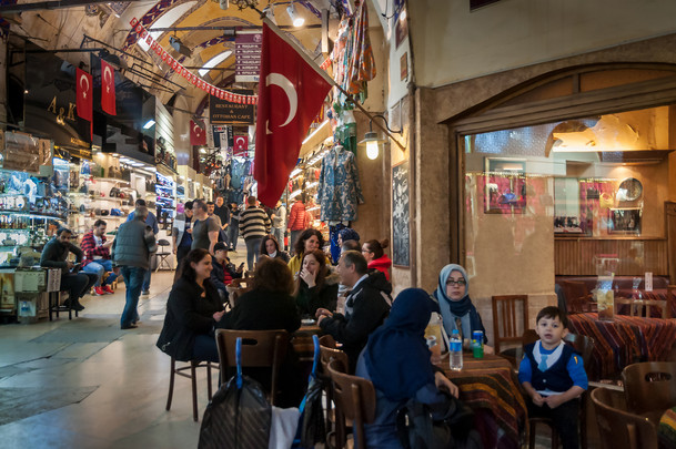 Bazar, Istanbul, Turchia, 2018
