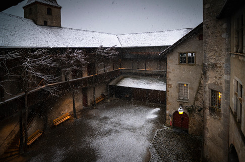 Castello di Gruyere, Friburgo, 2020