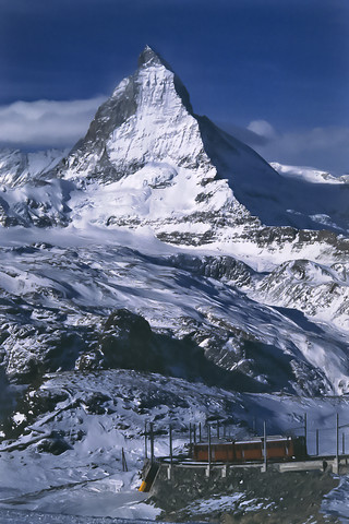 Matterhorn, Vallese, 1990