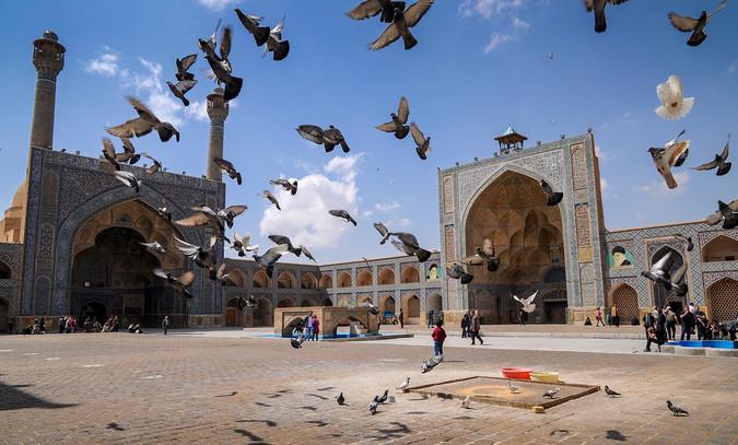 Masjed-e Jameh, Isfahan, Iran, 2017