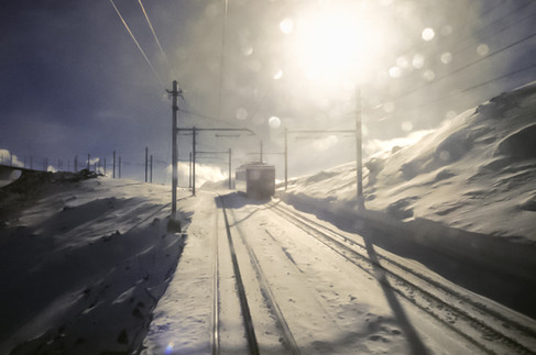 Gornergratbahn, Vallese, 1990