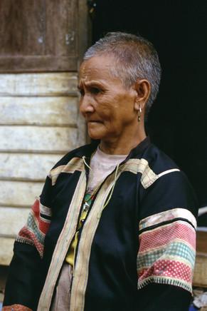 Villaggio Lahu Neri, Tailandia, 2002