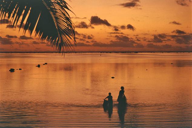 Aitutaki, Isole Cook,1989