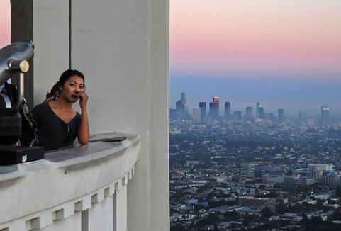 Griffith Observatory, Los Angeles, California, 2013