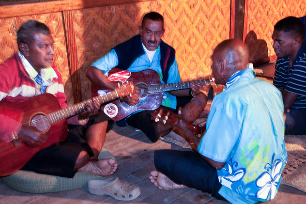 Kawa Ceremony, Beqa, Fiji, 2015