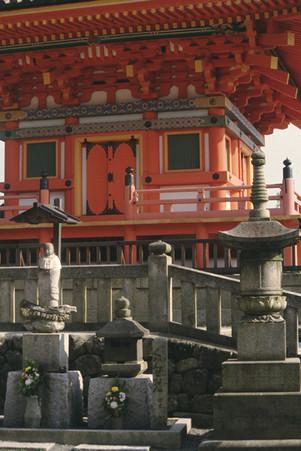 Kiyomizu-Dera, Kyoto, Giappone, 1989