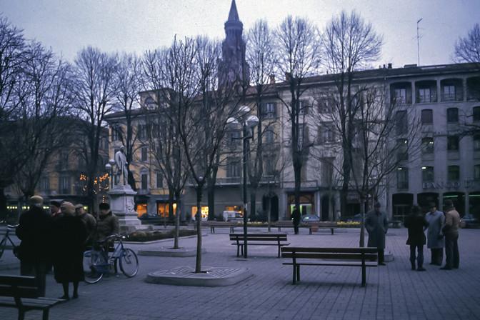 Piazza Roma, Cremona, 1991