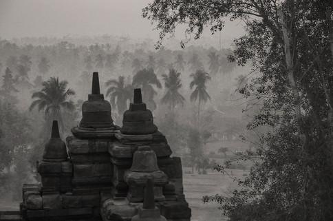 Borobudur, Giava, 2011