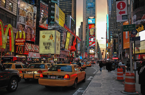 Times Square, New York City, 2005