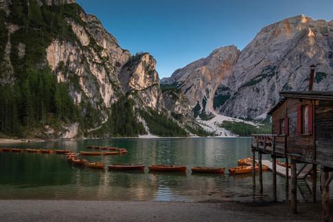 Lago di Braies, Trentino Alto Adige, 2019