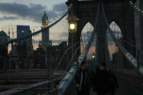 Brooklyn Bridge, New York City, 2005