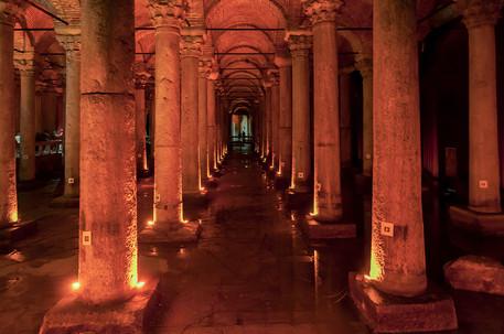 Cisterna Basilica, Istanbul, Turchia, 2018