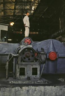 Acciaieria Wuhan, Cina, 1979