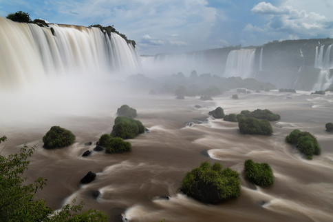 Cascate del Iguaçù, Brasile, 2019