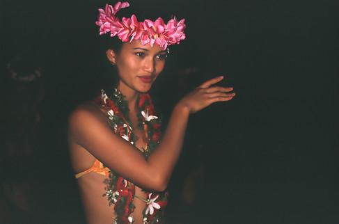 Banana Court, Rarotonga, Isole Cook, 1989