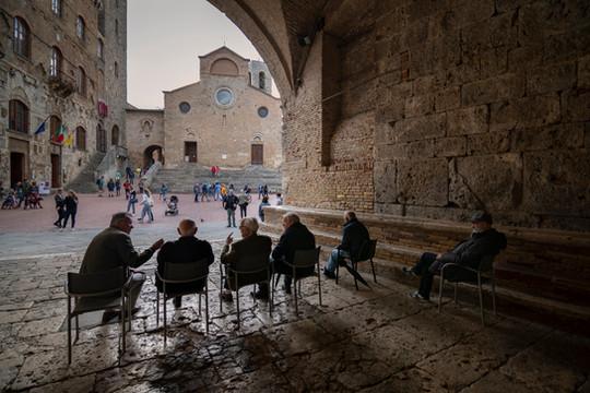 S.Gimignano, Toscana, 2019
