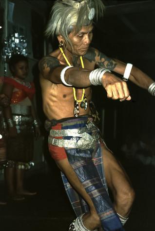 Capo Iban, Lemanak, Sarawak, Malesia, 1988