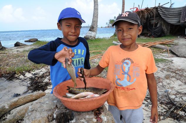 Jovan e Edison - Kuna Indians, San Blas, Panama, 2017