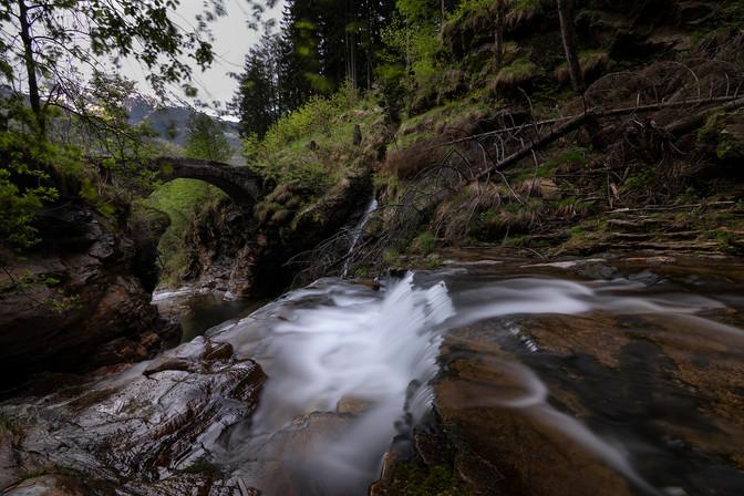 Cascata della Piumogna, Faido, 2019