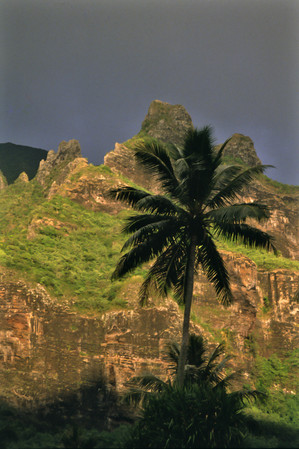 Baia di Cook, Moorea, Polinesia Francese, 1989