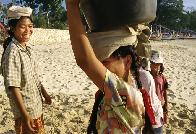 Nusa Lembongan, Bali, 1995