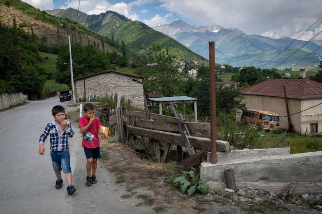 Lenashi, Svaneti, Georgia, 2019