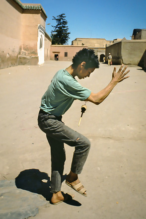 Marrakech, Marocco, 1990
