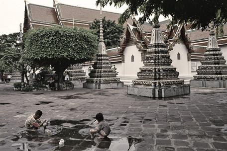 Wat Pho, Bangkok, Tailandia