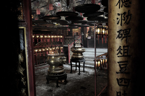 Man Mo Temple, Hong Kong, Cina