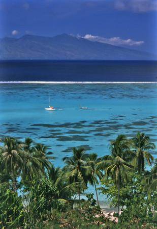 Moorea, Polinesia Francese, 1989