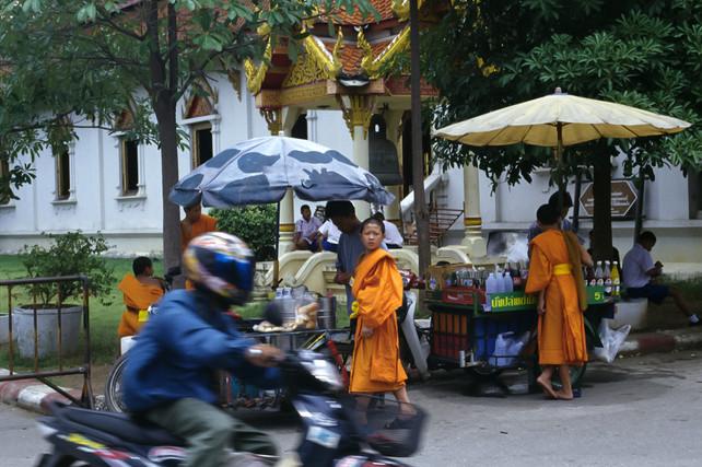 Wat Phra Singh, Chiang Mai, Tailandia, 2002