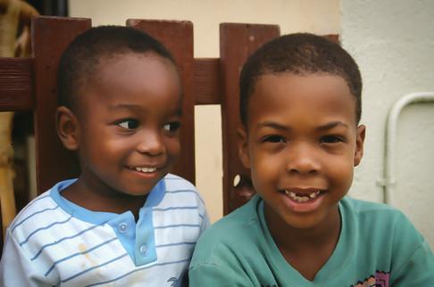 Ruandall (2) e Jurnick (6), Curaçao, Antille Olandesi, 1993