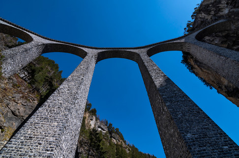 Landwasser Viaduct, Filisur, 2020