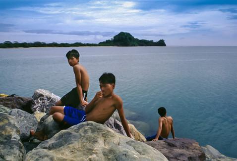 Mamburao, Filippine, 1998