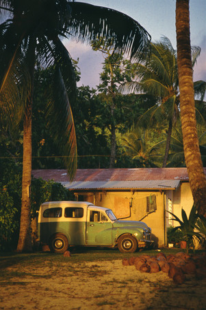 Aitutaki, Isole Cook, 1989