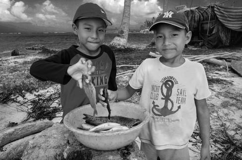 Jovan e Edison, Kuna Indians, San Blas, Panama, 2017
