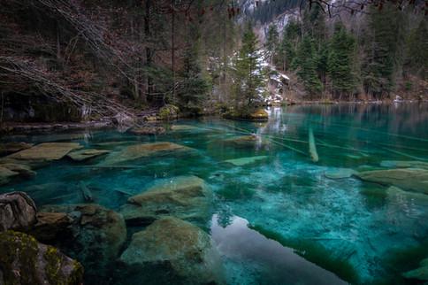 Blausee, Berna, 2021