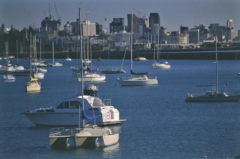 Auckland, Nuova Zelanda, 1989