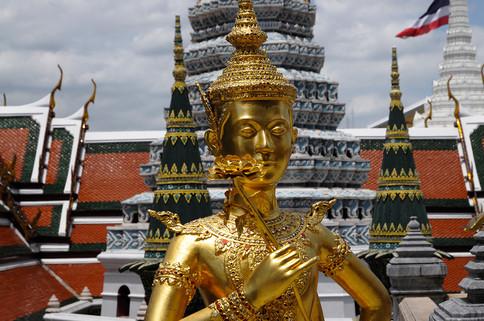 Wat Phra Kaew, Bangkok, Tailandia, 2014