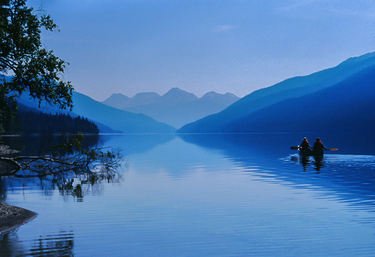 Ann & George, Isaac Lake, British Columbia, 2004