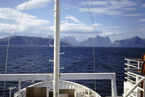 Traghetto su un fiordo, 1987