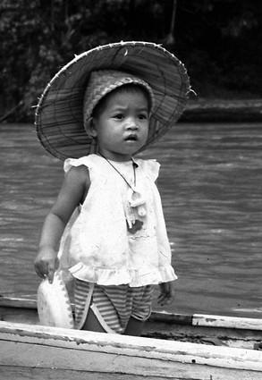 Lemanak River, Sarawak, Malesia, 1988