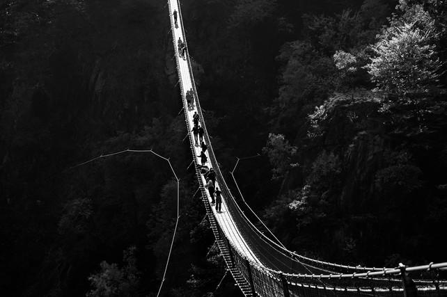 Ponte Tibetano, Monte Carasso, 2018