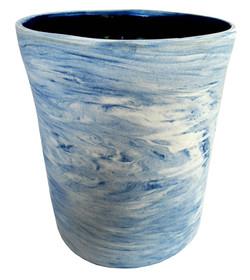 Ref.: 1003 - Vaso Malhado de Azul