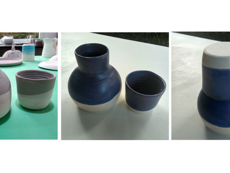 Moringas de Cerâmica