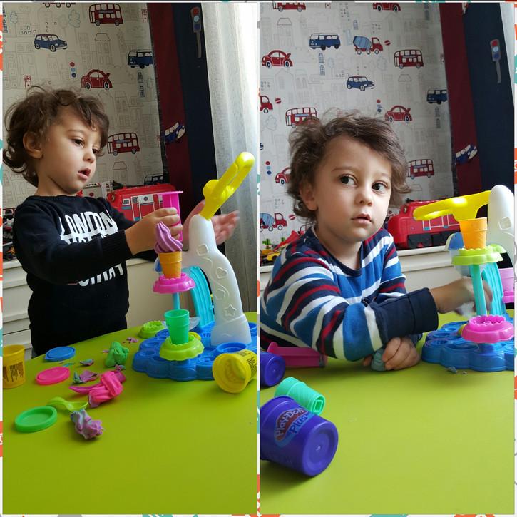 Play-Doh Dondurma Dükkanı Oyun Seti ile keyifli anlar..