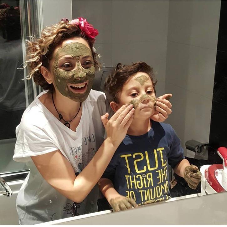 ÖZBAKIM GELİŞİMİNİDESTEKLEMEK ÖNEMLİKil maskesi hem de en doğalından! En keyifli anlarımızdan biris