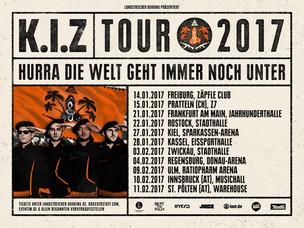 K.I.Z Tour 2017