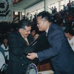 Han Moo Kwan. GM. Álvaro Magaña Ochoa